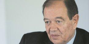 Le maire (LR) de Rueil-Malmaison (Hauts-de-Seine), Patrick Ollier, est président de la métropole du Grand Paris depuis sa création le 1er janvier 2016.