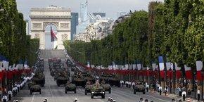 14 juillet: 11.000 policiers et un drone mobilises a paris