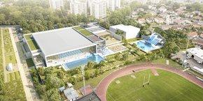 Le stade nautique de Mérignac ouvrira au public en janvier 2023.