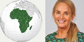 Clare Hart, vice-présidente de Montpellier Méditerranée Métropole, déléguée au rayonnement international et à la coopération européenne
