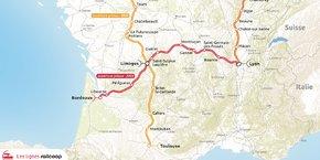 Dans les prochains mois, Railcoop doit reprendre la gestion de la transversale ferroviaire entre Bordeaux et Lyon, laissée à l'abandon par la SNCF.