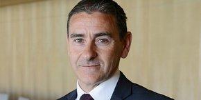Christian Martinez, directeur régional du Crédit Coopératif pour l'Occitanie et PACA.