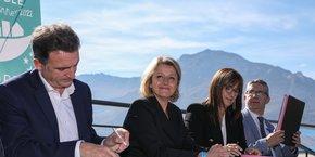 « La distinction de Grenoble est un symbole important qui contribue à renforcer notre capacité à faire aboutir le Pacte vert pour doter l'Europe de la législation environnementale et climatique la plus ambitieuse au monde », a estimé ce lundi la ministre de la Transition Ecologique, Barbara Pompili.