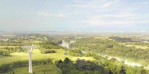 Pour l'instant, trois tracés sont proposés, de Francheville à Lyon. Les opposants au projet s'inquiètent de la visibilité du voisinage, de son insertion paysagère, son impact sur la biodiversité, la fréquence moindre qu'un métro, du bruit et des éventuelles expropriations pour mener à bien son implantation.