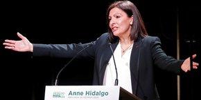 Anne Hidalgo, en février 2020.