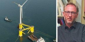 Etienne Ballan, président de la commission particulière du débat public Éoliennes flottantes en Méditerranée (EOS).