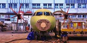 ATR livre environ 90 appareils par an et compte près de 200 clients dans 100 pays du monde