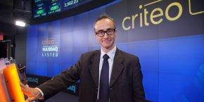 A l'annonce de ses résultats trimestriels, l'action de Criteo à perdu 15% en Bourse, faut à une croissance nulle.