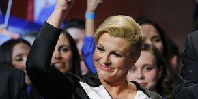 Kolinda Grabar-Kitarovic, président de la Croatie