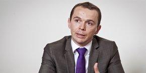 Olivier Dussopt, député de l'Ardèche et président de l'Association des petites ville de France (APVF).