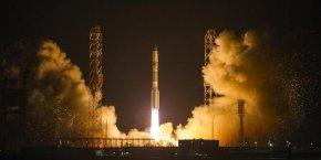 C'est le 414e lancement de Proton depuis le vol inaugural en juillet 1965.
