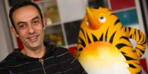 Jean-François Tosti, cofondateur de la société toulousaine TAT Productions, président de l'Association régionale des producteurs d'animation (Arpanim).