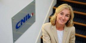 Isabelle Falque-Pierrotin, président de la Commission nationale de l'informatique et des libertés (Cnil).