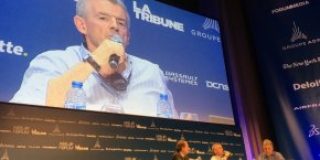 Michael O'Leary au Paris Air Forum 2016