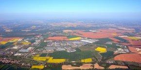La Plaine de l'Ain.