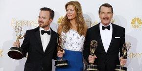 Le triomphe de la série Breaking Bad aux Emmy Awards pour la dernière saison en 2013.