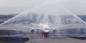 Air France offre aujourd'hui une solution de connectivité à bord de ses Boeing 787.