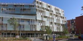 la résidence les balcons de Vestrepain livrée en septembre 2016 par Toulouse Métropole Habitat en septembre 2016.