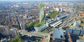 La future Occitanie Tower