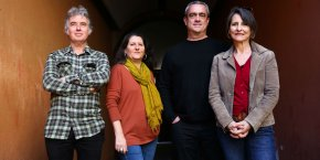 Pascal Bonnet (Apiamp), Isabelle Dario (MidiFilm), Philippe Aussel (Apifa) et Anne-Catherine Clercq Roques (MidiFilm)