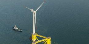 Le projet d'éoliennes flottantes qu'Engie installera au large du Barcarès est co-financé et accompagné par la Caisse des Dépôts.