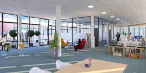 Le bâtiment King Charles abritera le futur campus numérique.
