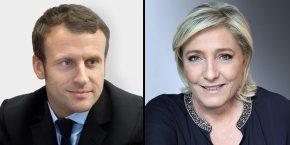 Emmanuel Macron (EM) et Marine Le Pen (FN) répondent aux interpellations des entrepreneurs et acteurs économiques d'Occitanie