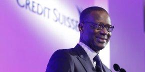 Tidjane Thiam, le directeur général de la banque suisse, a abandonné son projet de lever de l'argent en Bourse en cédant une partie de son activité lucrative de banque universelle en Suisse.