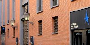 Le siège de la Banque Courtois à Toulouse