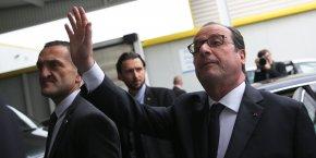 François Hollande effectuait sa dernière visite en Occitanie en tant que président de la République.