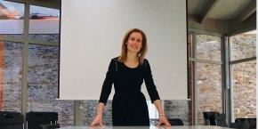 Sandrine Charpentier, fondatrice de l'association Femmes du digital Ouest, et créatrice de la startup Digitaly, vient d'ouvrir l'antenne nantaise du réseau d'incubateurs de startups 1Kubator.