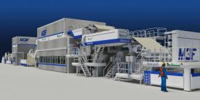 La future machine Allimand servira à fabriquer le papier fiduciaire.