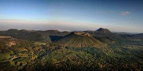 La Chaîne des Puys Volcans Auvergne