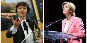 Carole Delga et Valérie Pécresse, les présidentes des Régions Occitanie et Île-de-France