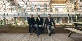 Olivier Saguez à droite avec Jean-Philippe Cordina et Boris Gentine ont travaillé pendant 7 ans sur le projet de La Nouvelle Manufacture Design.