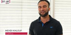 Mehdi Khlouf, fondateur de Carfics