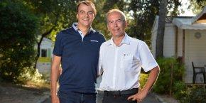 Gérard Tremblay et Yves Boulleau, co-fondateur de Osmozis.