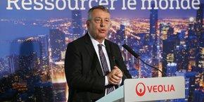 Nous rentrons dans 2018 à pleine vitesse et avec de l'élan, s'est félicité Antoine Frérot, le Pdg de Veolia.