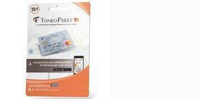 Comme Compte Nickel, Toneo First est une carte Mastercard sans compte bancaire distribuée dans les bureaux de tabac. BD Multimedia, qui a repris en 2015 le fonds de commerce auprès d'un spécialiste des cartes prépayées de télécoms, veut en faire une néobanque pour les exclus bancaires et les autoentrepreneurs.