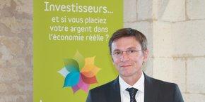 Philippe Gaborieau, dirigeant d'Happy Capital