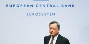L'avenir du quantitative easing ? Nous allons en parler à l'automne, a annoncé Mario Draghi, le président de la BCE. Nous ne cherchons pas à connaître un indicateur en particulier, nous avons simplement besoin de plus d'informations qu'aujourd'hui pour prendre une décision.