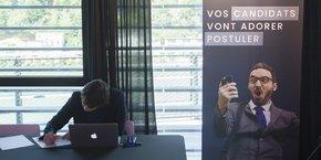 Lors de l'événement #HRevolution à Lyon