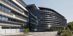 Les bâtiments du SPI West, à Lyon, dont Icade a été le promoteur.