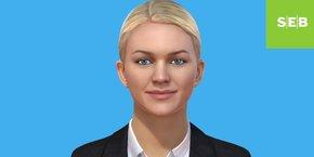 Voici Aida, la nouvelle employée du service client de la banque suédoise SEB, issue de l'intelligence artificielle de l'Américain IPsoft.