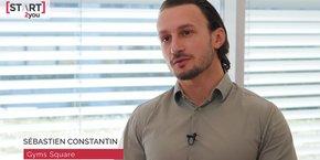 Sébastien Constantin, président de Gyms Square