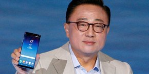 Samsung présentait le Galaxy Note 8, disponible le 15 septembre à partir de 1.009 euros, ce mercredi à New York.