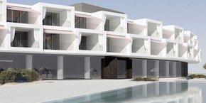 Le futur hôtel 5* des frères Guy et Jean-Louis Costes, sur le littoral languedocien, a été dessiné par l'agence d'architecture parisienne Buttazzoni.