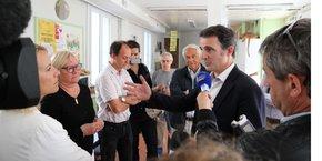 Eric Piolle, maire sortant de Grenoble, est en bonne position pour conquérir sa ville une seconde fois.