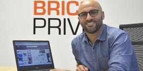 Julien Boué, co-fondateur de Brico Privé.