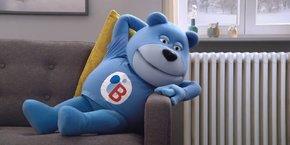 L'ours Bob, la mascotte de Butagaz depuis 1969.